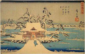 800px-Hiroshige_Benzaiten_Shrine_at_Inokashira_in_Snow.jpg